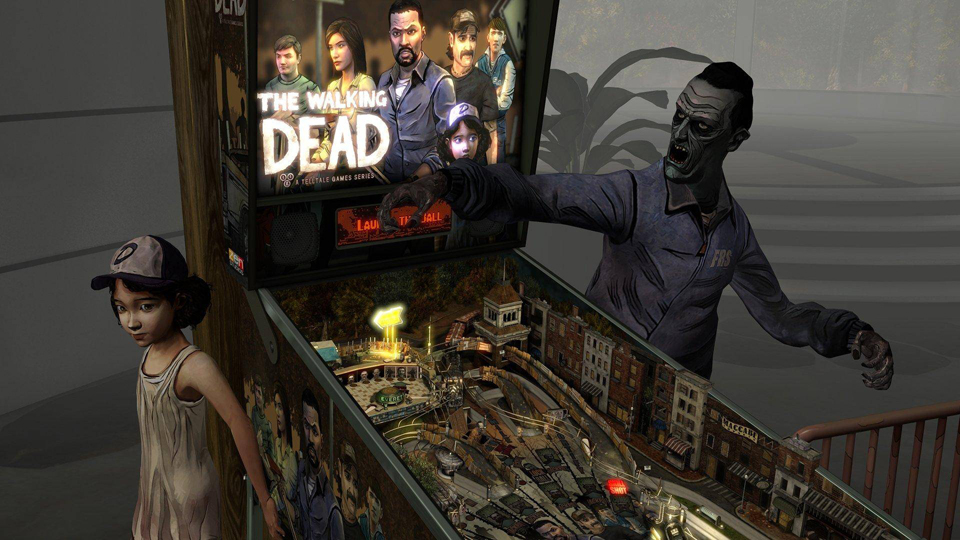 Pinball FX2 VR review: The Walking Dead