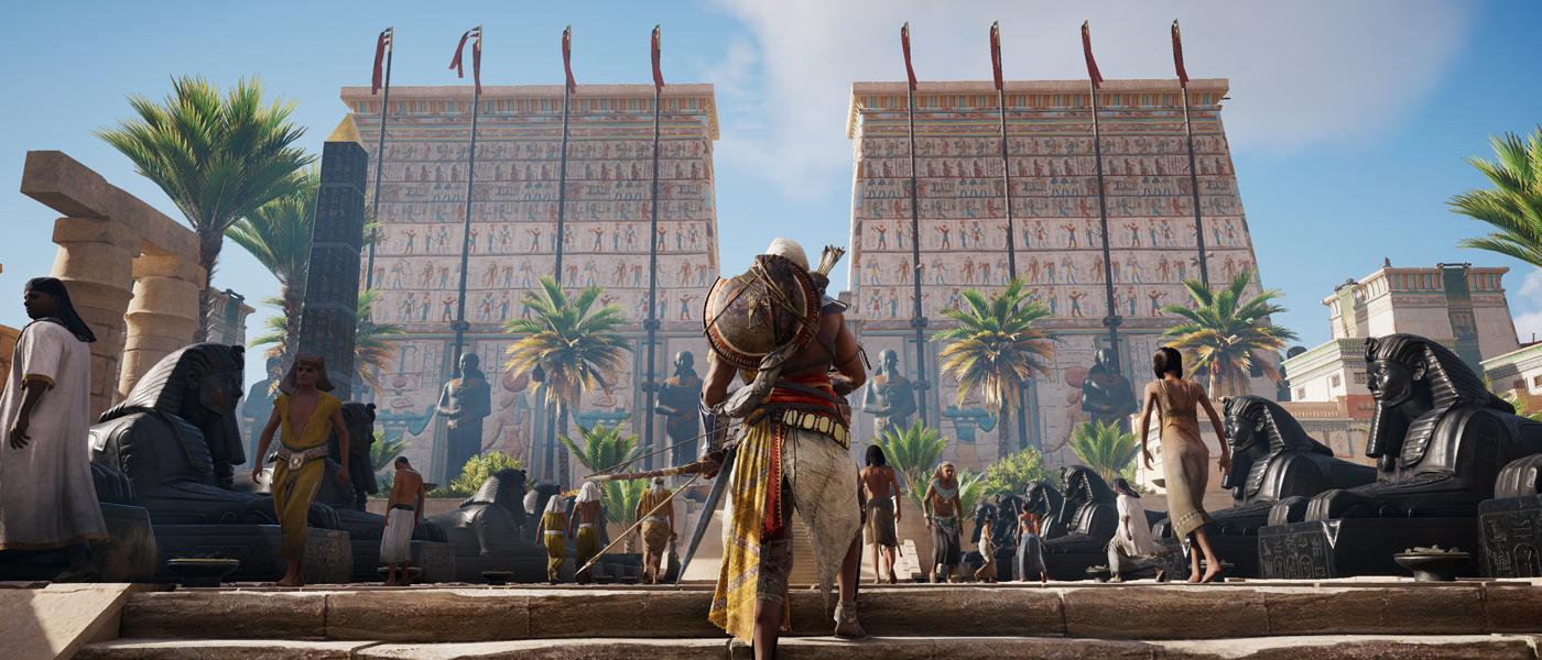<em>Assassin's Creed Origins</em> review: Wonders of the world