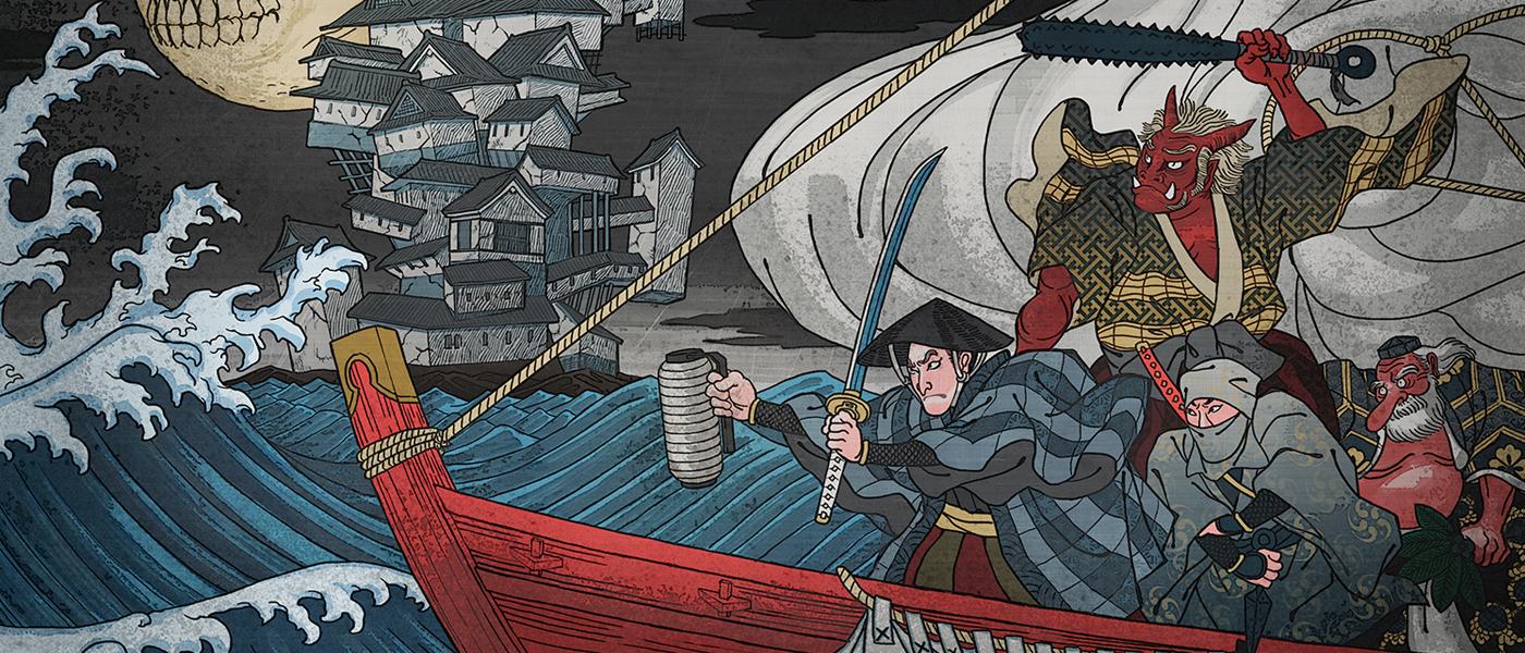 <em>Hyakki Castle</em> review: A yōkai-filled ukiyo-e dungeon crawl