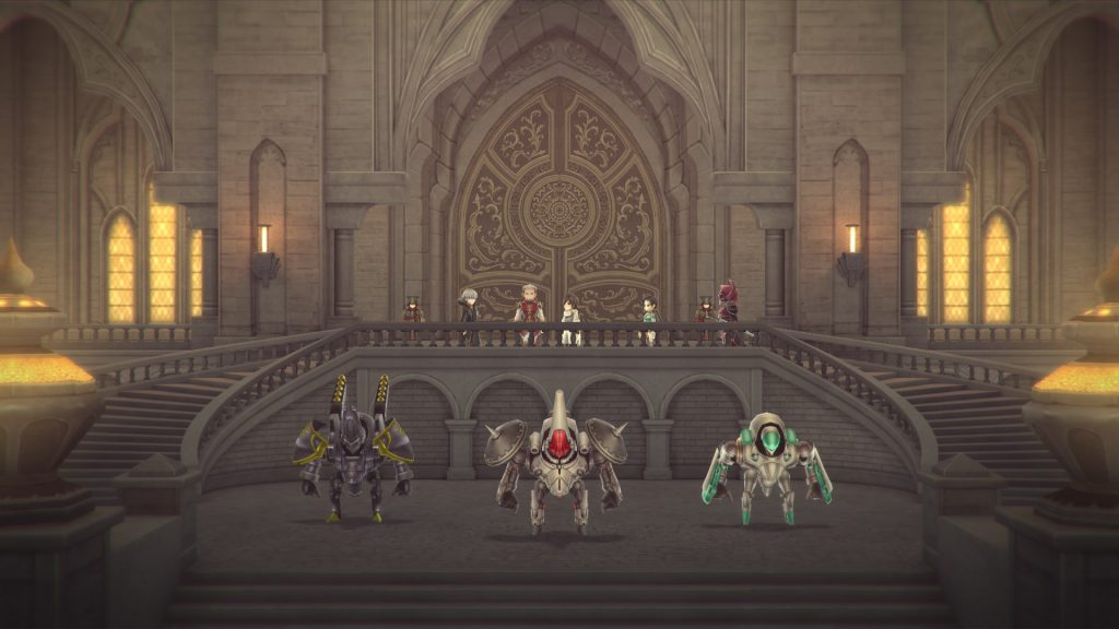 A screenshot from Lost Sphear