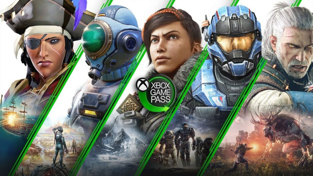 An image showing some of the games included in Xbox All Access at the time of its New Zealand launch.