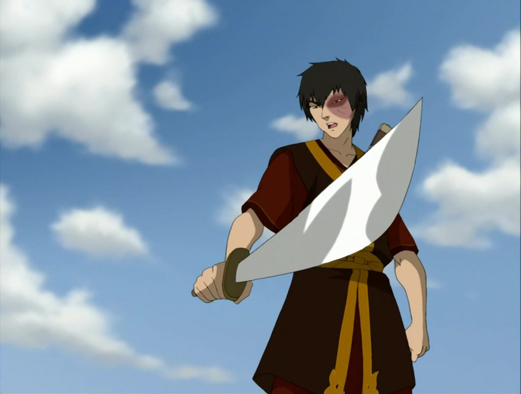 A screenshot from Avatar: The Last Airbender
