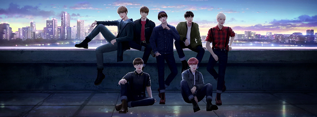 BTS Universe Story, an official platform for BTS fanfiction, is out now