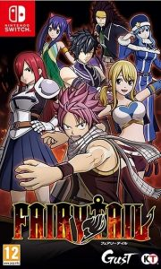 Cover art for Fairy Tail for Nintendo Switch