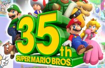 The logo for the 35th anniversary of Super Mario Bros